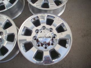 GMC DENALI 2500 HD SIERRA POLISHED FACTORY WHEELS RIMS 2011 2012 2013