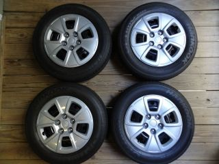 Kia Soul 2013 OEM Wheels Rims 15 x 6 Tires 195 65 15 Hubcaps Lugnuts