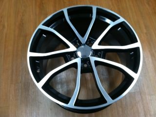 2013 Centennial Cup 427 C6 Z06 Corvette Black Machine Wheel Rim C6
