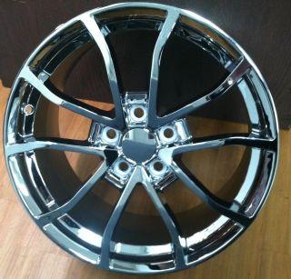 427 C6 Z06 Corvette Chrome Wheel Rim for A C6 18x8 5 19x10 2013