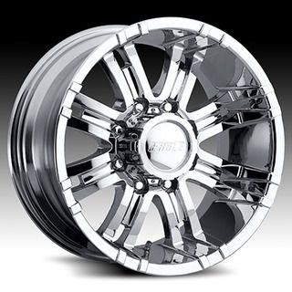 American Eagle Style 197 Wheels Rims 18x9 6x5 5 Chrome