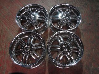 20 20x9 Toyota Tundra Sequoia Chrome Alloy Image Wheels Rims