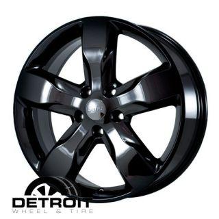 GRAND CHEROKEE 2011 2012 PVD Black Chrome Wheels Rims Factory 9107