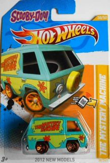 Hot Wheels 2012 New Models Scooby Doo The Mystery Machine