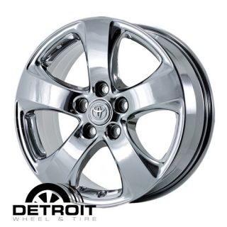 Toyota Sienna 2011 2011 PVD Bright Chrome Wheels Rims Factory 69584