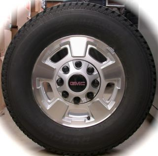 New 2011 GMC Sierra 17 2500 3500 Wheels Rims Tires