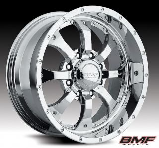 BMF Wheels Novakane Chrome PVD 20x10 2011 Silverado Sierra 2500 3500HD