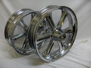 COUNTRY ROADS VISION CRUISER TOURING CHROME WHEEL RIM WHEELS RIMS