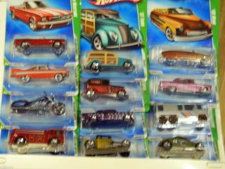 Hot Wheels Complete 2009 Treasure Hunt Set 1 thru 12