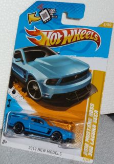 Hot Wheels 2012 Ford Mustang Boss 302 Laguna Seca Col 8 New Models