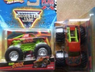 2010 Hot Wheels 51 Rap Attack Monster Jam 1 64 Truck