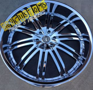 Rims Wheels Tires VW212 Chrome Maxima 2007 2008 2009 2010 2011