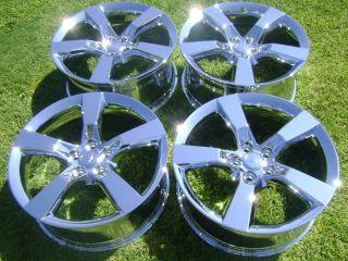 20 4 New Chrome Wheels Rims Camaro 2010 2012