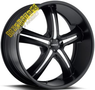 Wheels 334 Rims Tires Black 5x115 Dodge Magnum 2006 2007 2008