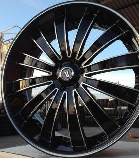 28 VW 225 Wheels Rims Tires 6x139 7 Escalade 2007 2008 2009 2010 2011