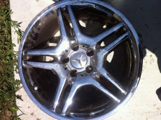 2006 2007 2008 Mercedes CLS55 AMG Wheels Rims 18