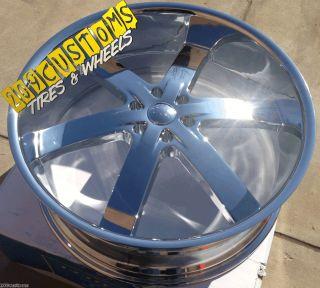 24 inch Wheels Rims Tires U2W55 6x139 7 Escalade 2007 2008 2009 2010