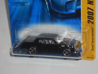 Hot Wheels 2007 New Models 10 36 Buick Grand National Black w OH5SPS