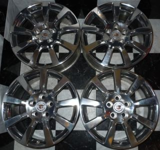 2008 2012 Cadillac CTS 18 FACTORY POLISHED OEM Wheels HOLY COW PERFECT