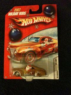 Hot Wheels 2007 Holiday Rods Tail Dragger 6 6 VHTF Santa