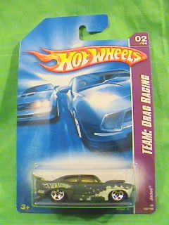 HOT WHEELS JADED HOT ROD TEAM DRAG RACING CAR 2008 LARGE WING REAR