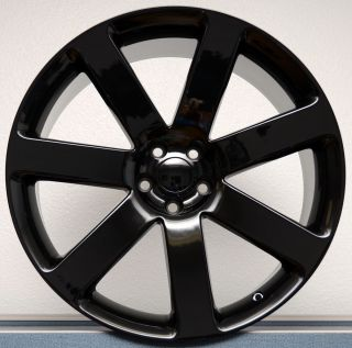 300 Gloss Black SRT8 Challenger Charger Magnum Wheels Rims Set