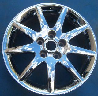 One 2006 2007 2008 Buick Lucerne 17 Factory Wheel Rim Chrome 4018