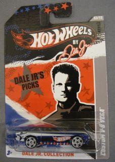 Hot Wheels Custom V 8 Vega 03 Car Dale Jr 88 Collection 1 64 Scale New