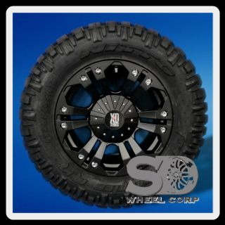 18 Wheels Rims XD Monster Matte Black with 285 65 18 Nitto Trail