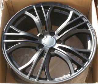for Audi A8 A6 A4 Q5 VW Tiguan Passat Phaeton Matte Black Rims