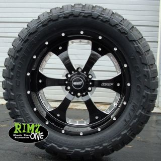 20 BMF Wheels Novakane Death Metal Black 35x12 50R20 Toyo MT 35