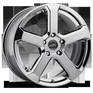 RACING AR896 5X4 5 INTEGRA CALIFORNIA AVENGER CHROME WHEELS RIMS