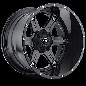 2piece Driller Black Rims Tires Truck Wheels Falken Tires