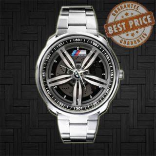 BMW M5 Series Emblem Rim Steering Wheels Metal Sport Watch