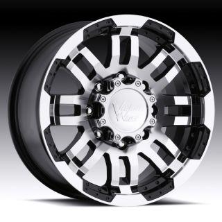 16 inch Vision Warrior Black Wheels Rims 6x130 45