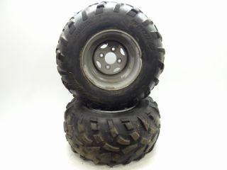 2002 Polaris Scrambler 400 4x4 Rear Rims Tires 22 11 10