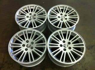 CHRYSLER 300 17 FOUR 4 05 11 OEM FACTORY ALLOY RIMS WHEELS SILVER 2324