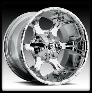 20 Fuel D522 Dune Chrome Wheels Rims Toyo 33x12 50X20LT Open Country