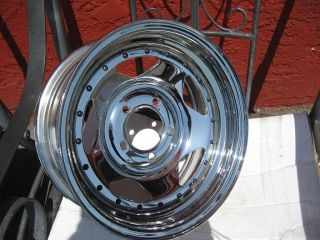 14 14x6 Chrome Wheels Rims Boat Trailer Rims American Racing Are 46