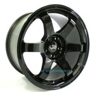 17 Rota Rims Wheels 17x9 Grid BK 350Z RX8 3000gt 300zx