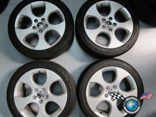 06 11 Volkswagen VW GTI Golf Jetta Factory 17 Wheels Tires Rims 5x112