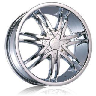26 Chrome B14 Rims Wheels Tire 300C Cutlass Magnum 24