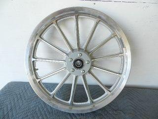 Harley Sportster XL Dyna 19x2 15 Front Wheel Rim 13 Spoke