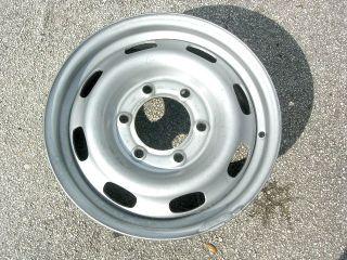 Chevy Colorado Canyon Isuzu Wheels 15 w 6 Hole Steel