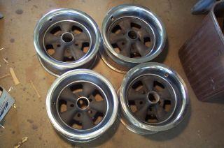 Old Vintage Cragar SS s s Mag Wheels Rims 15 Torq Thrust Gasser Hot