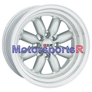 15 7 XXR 513 Silver Rims Wheels Deep Dish Stance 92 98 Honda Civic