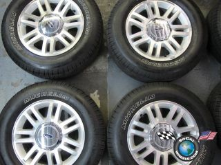 Four 03 12 Ford F150 Factory 18 Wheels Tires OEM Rims Expedition 3784
