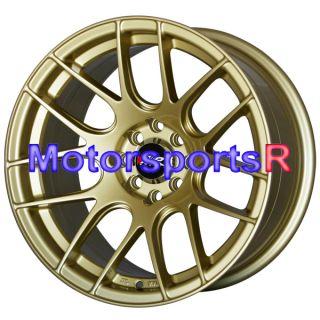15 15x8 25 XXR 530 Gold Concave Rims Wheels Stance 89 90 91 94 Nissan