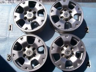 TRD 16 Wheels Rim Stock Factory Tundra 4Runner FJ Cruiser 16