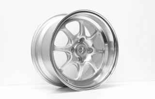 15 Enkei J Speed Silver Rims Wheels 15x7 25 4x100 BMW E30 2002 Miata